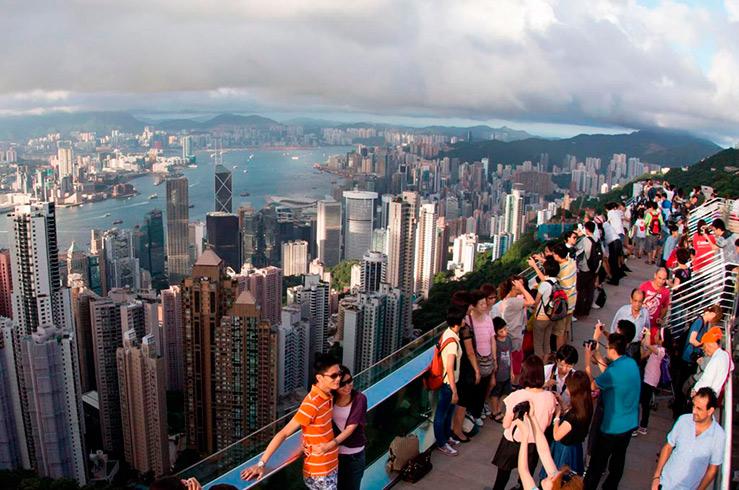 Гонконг признан наиболее посещаемым городом мира
