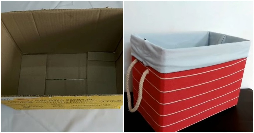 Чудесная вещица из простой картонной коробки