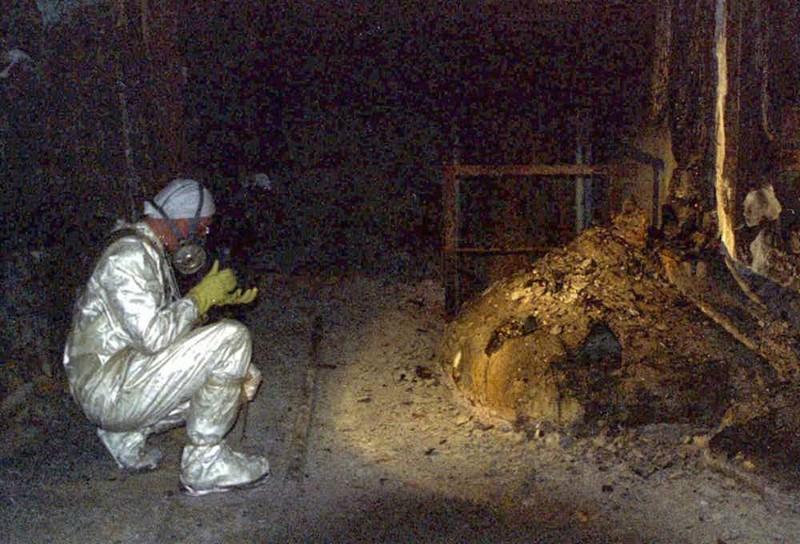 Место, в котором все началось, по-прежнему радиоактивно Чернобыль, чернобыльская катастрофа