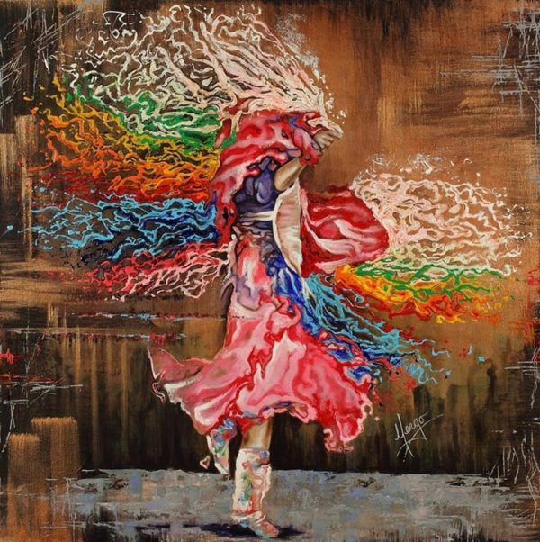 Картины каплями дождя живопись