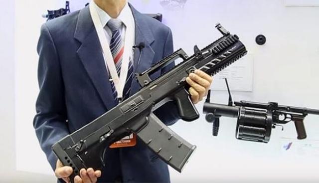 Российский спецназ вооружили новейшим автоматом ШАК-12