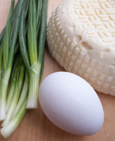 Сванские хачапури с зеленым луком (5)