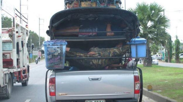Спальные капсулы — вчерашний век. В Таиланде они еще и передвижные. тайланд, туризм