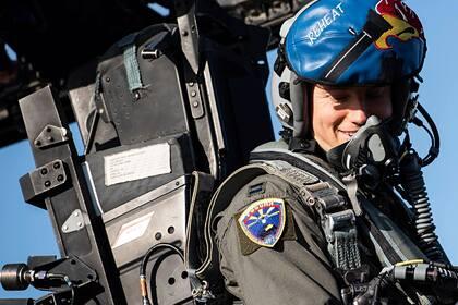 Истребители США использовали российский флаг во время учений