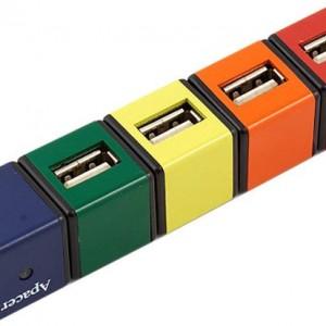 USB-хаб трансформер Apacer Ph250