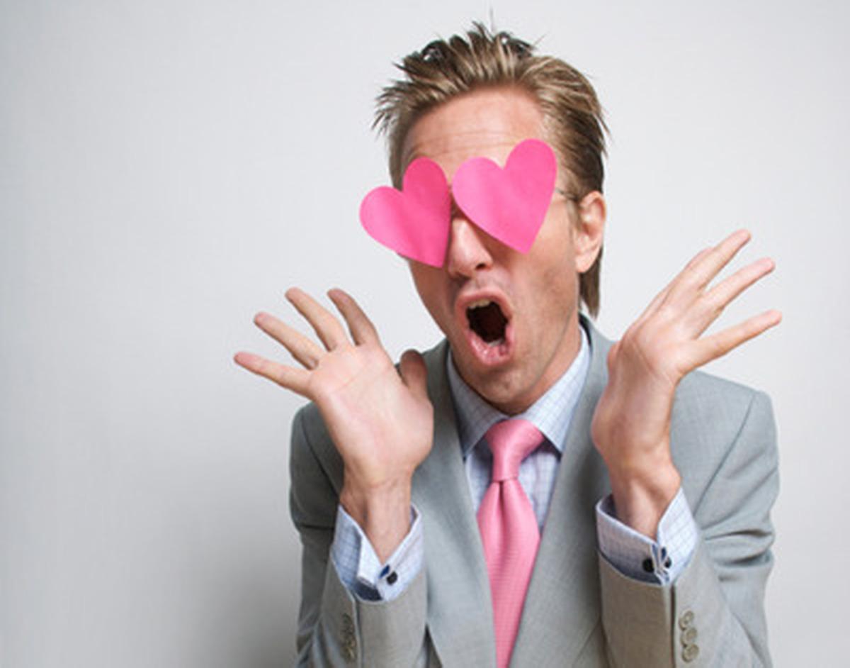 Влюбленный мужчина смешная картинка, картинки