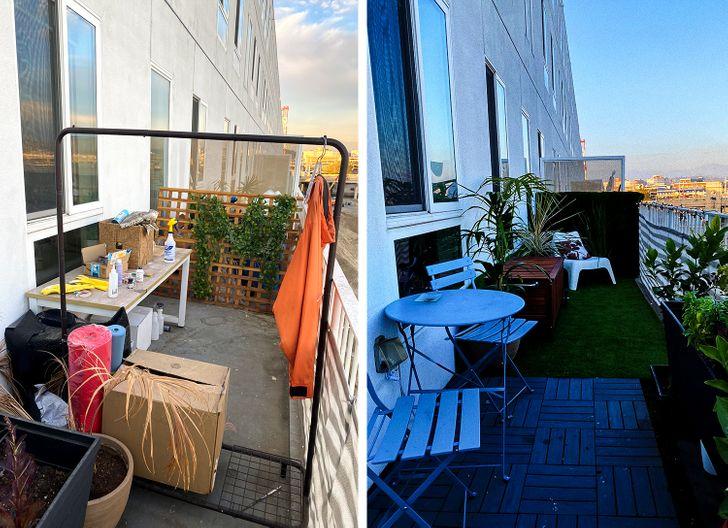 18 человек, которые так преобразили свои балконы, что хочется аплодировать им прямо с улицы идеи для дома,интерьер и дизайн