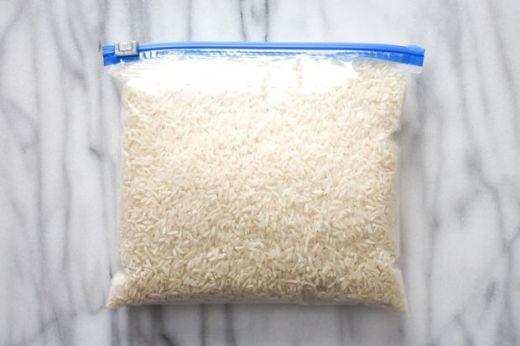 Вот что произойдет, если поместить фрукты в рис. Как давно я мечтал узнать этот секрет!