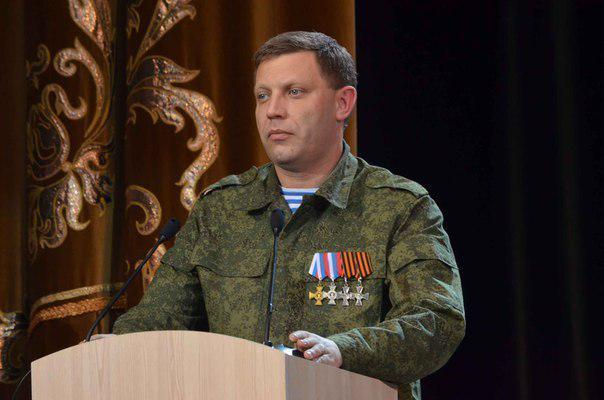Захарченко: Донбасс хочет вхождения в состав России