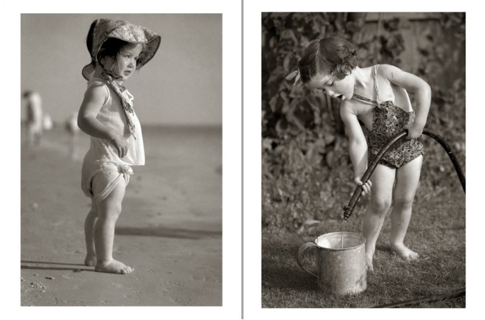 20 забавных детских ретро фотографий