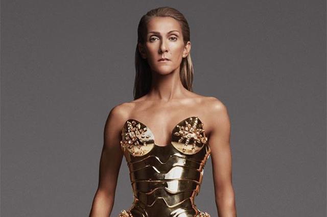 Чудо-женщина или робот: поклонники обсуждают новый образ Селин Дион в металлическом корсете