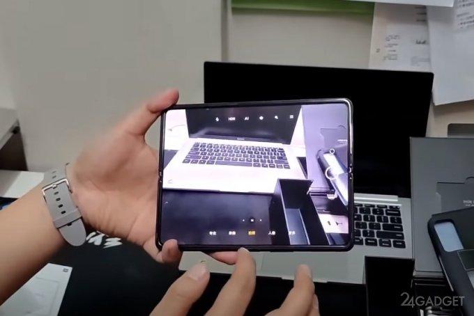 Распаковка и первые впечатления от складного смартфона Xiaomi Mi Mix Fold
