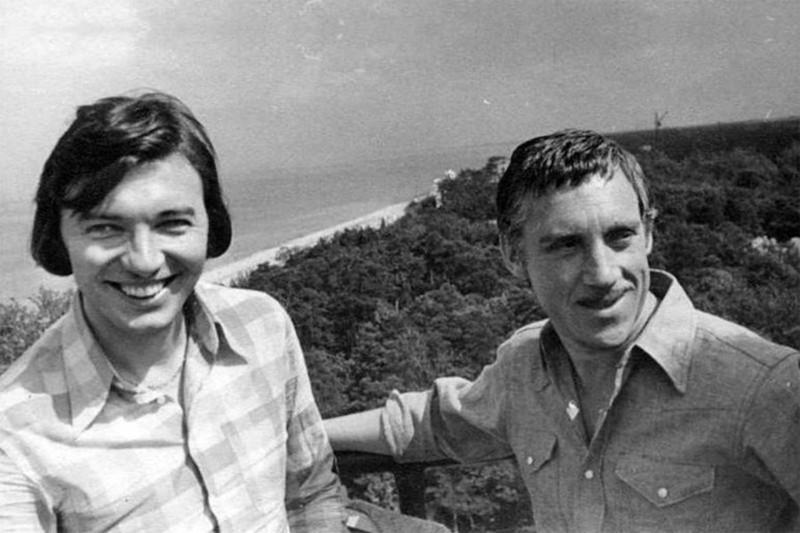 Герои минувших дней в малоизвестных фотографиях знаменитости