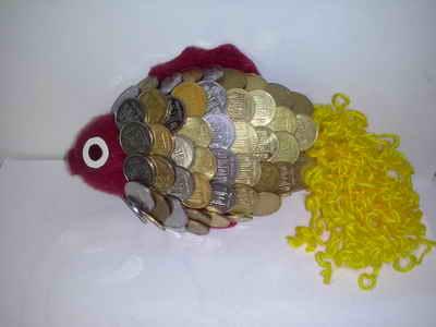 Подарок рыбка своими руками