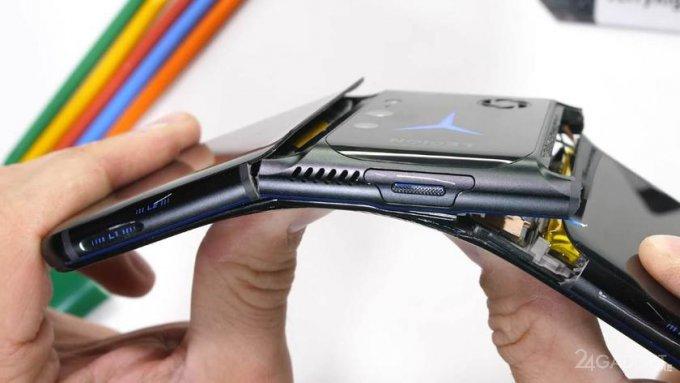 Lenovo Legion 2 Pro не прошел испытание на прочность видео,гаджеты,мобильные телефоны,смартфоны,телефоны,техника,технологии,электроника