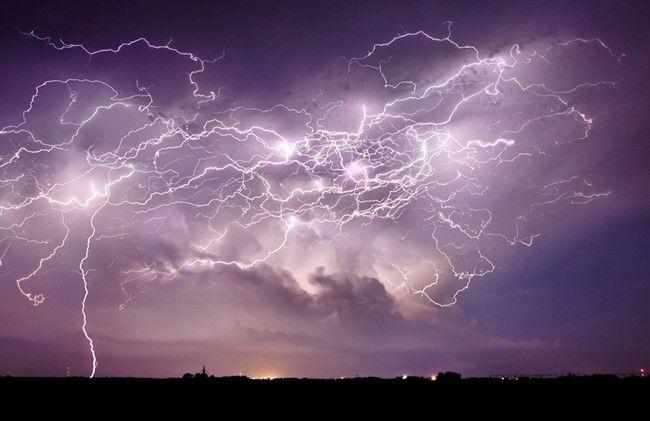 Небесное электричество - интересные факты о молниях гроза,интересное,молнии,природа,физика