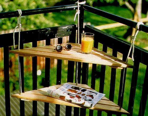 25 идей для маленького балкона.