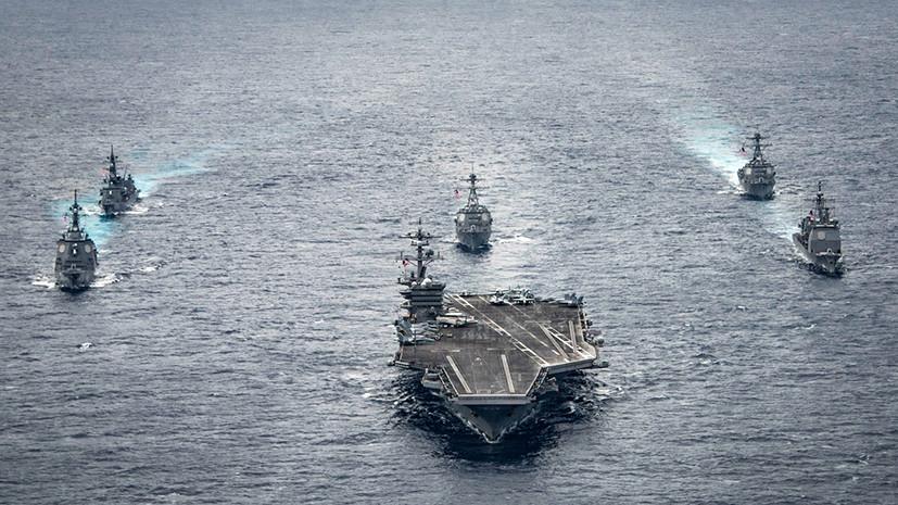 Морской бой: развяжут ли США и Китай третью мировую войну