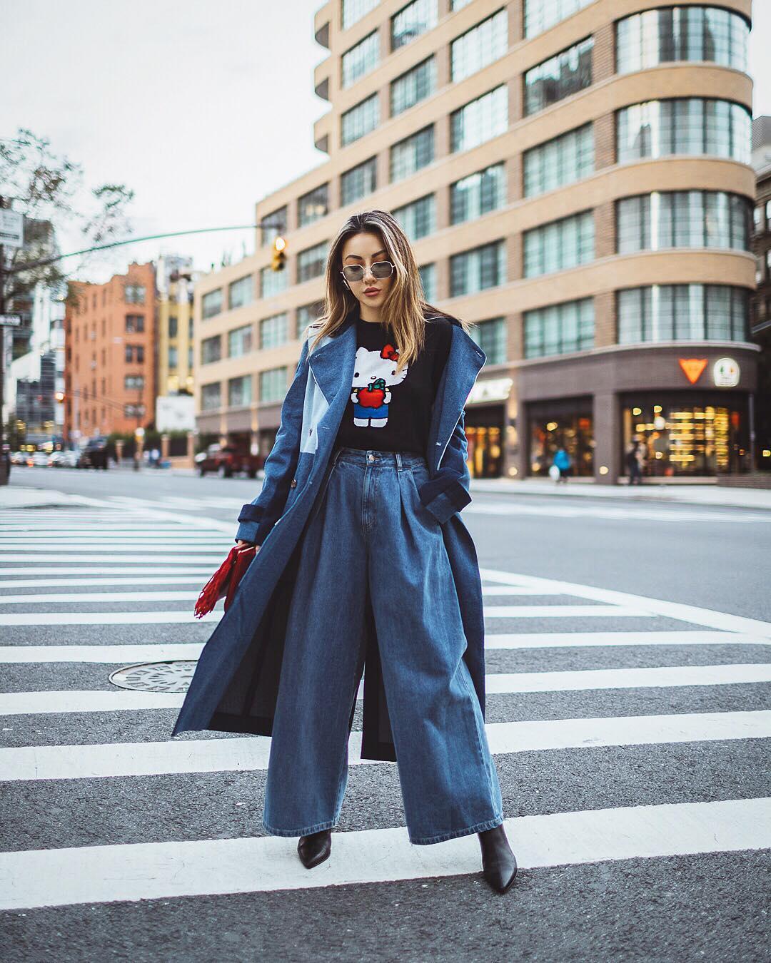 осенний уличный стиль 2019 фото 7