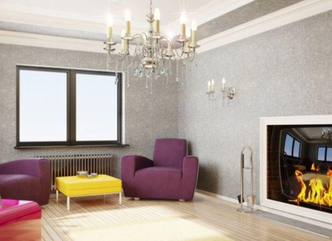 Обои для гостиной: стильные идеи - MSMH Nashdom.us