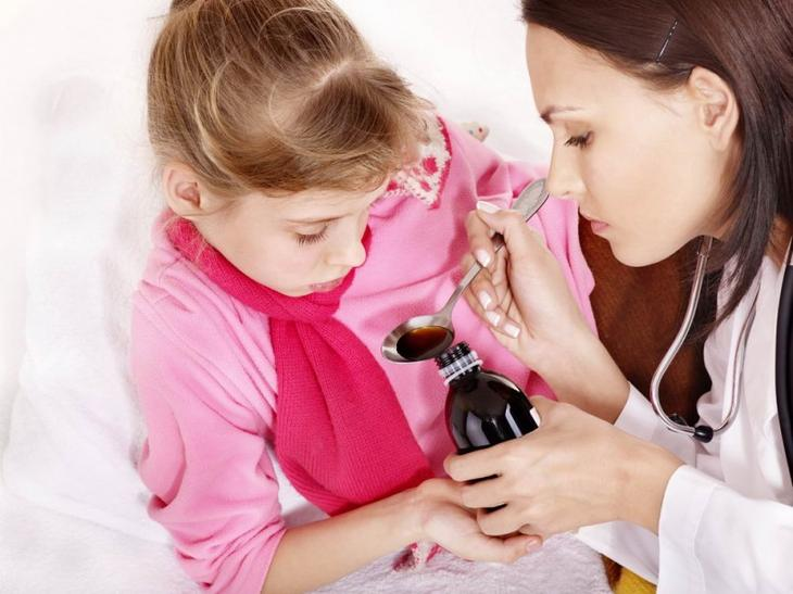 Дозирование лекарства зависит от возраста ребенка