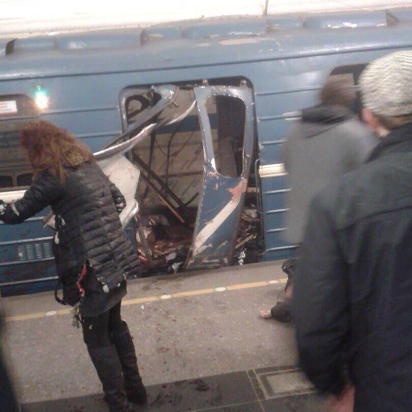 В Петербурге началась эвакуа…
