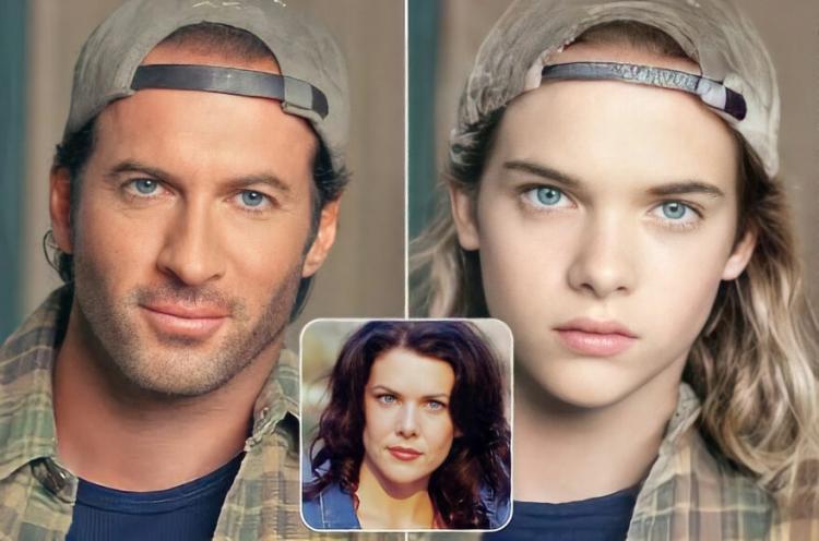 Дети вымышленных героев сериалов: как бы они выглядели актер,актриса,звезда,красота,фильм,фото,шоубиz,шоубиз