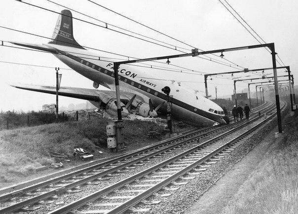 Самая идеальная авиакатастрофа - никто не погиб. Великобритания, 1960 год. жизнь, прошлое, ситуация, факт