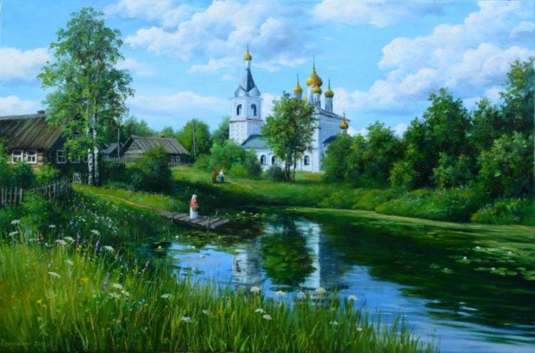художник Сергей Курицын картины – 22