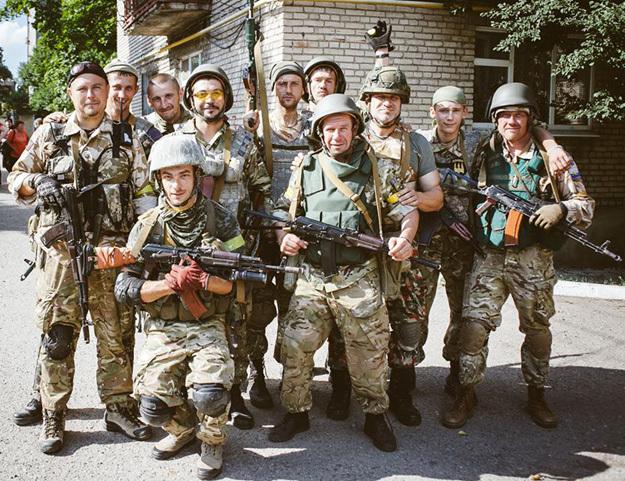 «Герои АТО» в Москве