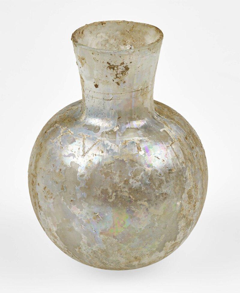 Стеклянная бутылка с надписью utere felix - «используй и будь счастливой» (лат.) археология, загадки, история, расследование