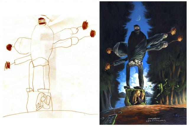Детские рисунки глазами взрослого