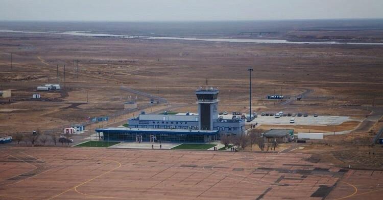 Прекращены авиаперелеты с Байконура в Москву