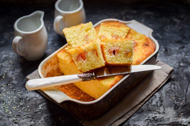 Выпечка на скорую руку! 10 рецептов вкусного манника на кефире, молоке, сметане и не только сладкая выпечка