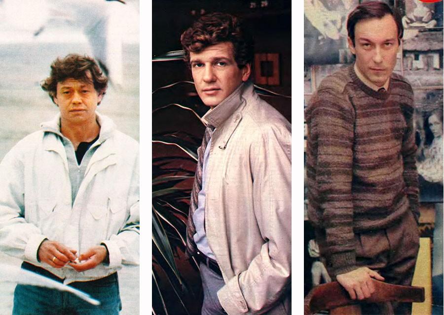 """Популярные советские актёры 80-х на обложках журнала """"Советский экран"""""""