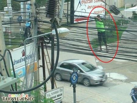 Профессионал своего дела, не то, что проектировщики линий коммуникаций. тайланд, туризм