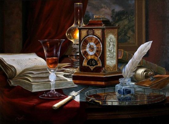 художник Gyula Boros (Дьюла Борос) картины – 14