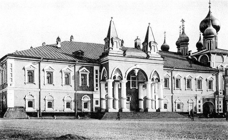 Москва. Утраченные храмы Московского Кремля, ч.2