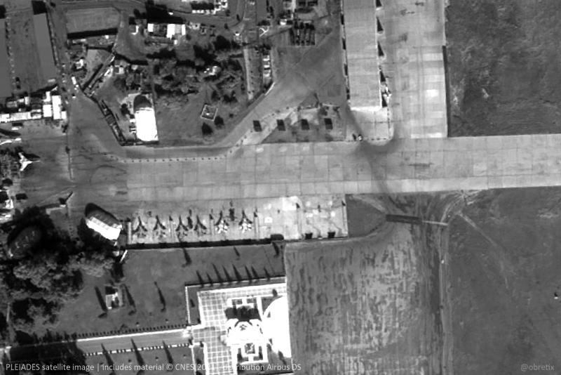 На авиабазе Хмеймим обнаружили шесть неизвестных МиГ-29 Новости