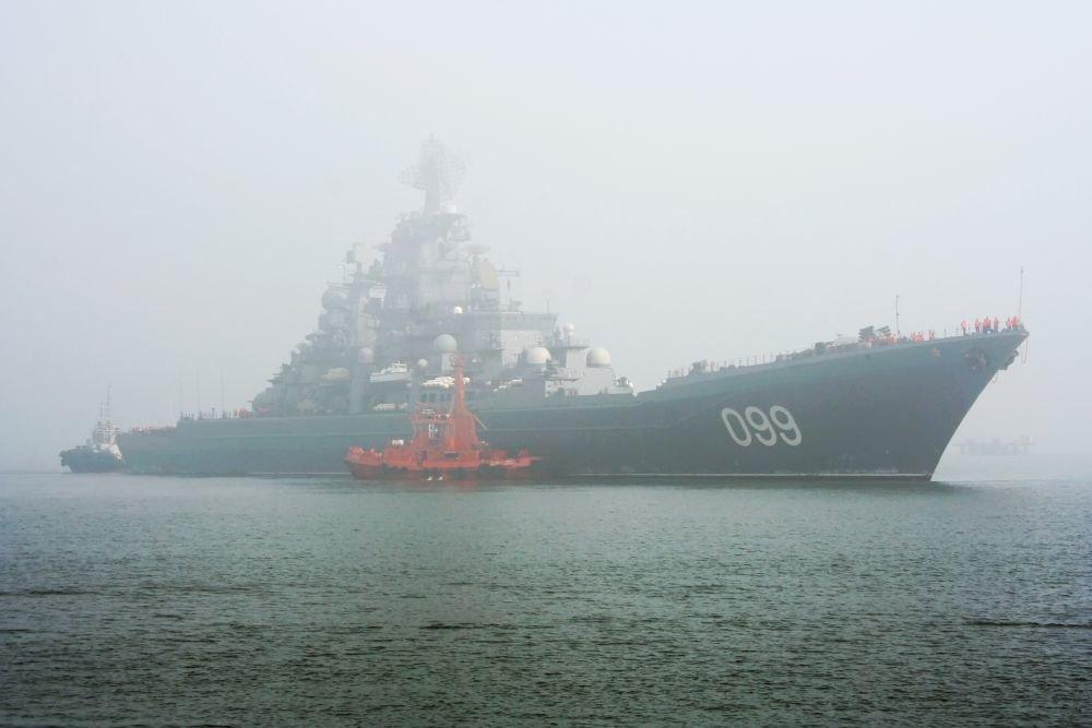 Российский атомный эсминец б…