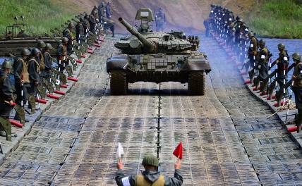 Танки застряли: «Абрамсы», «Леопарды», Т-90 уперлись в стену оружие,танки