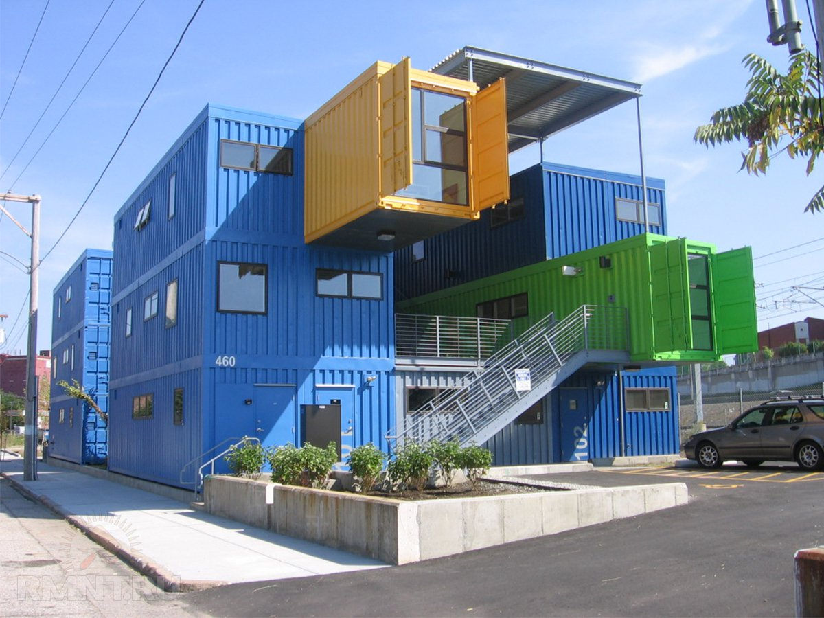 гостиница из контейнеров фото и проекты капуста кляре