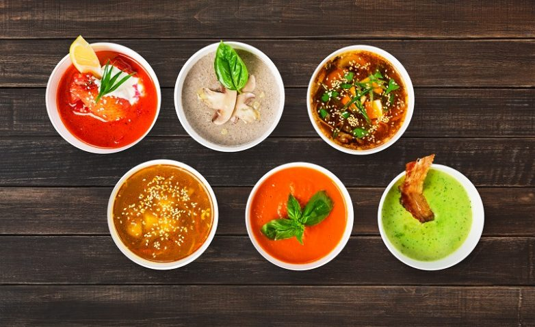 3 лучших овощных супа для похудения