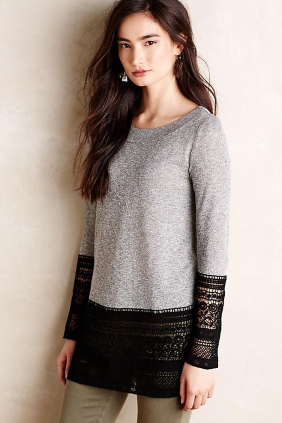 Shop the Recessed Lace Sweatshirt and more Anthropologie at Anthropologie today. Read customer reviews, discover product details and more.