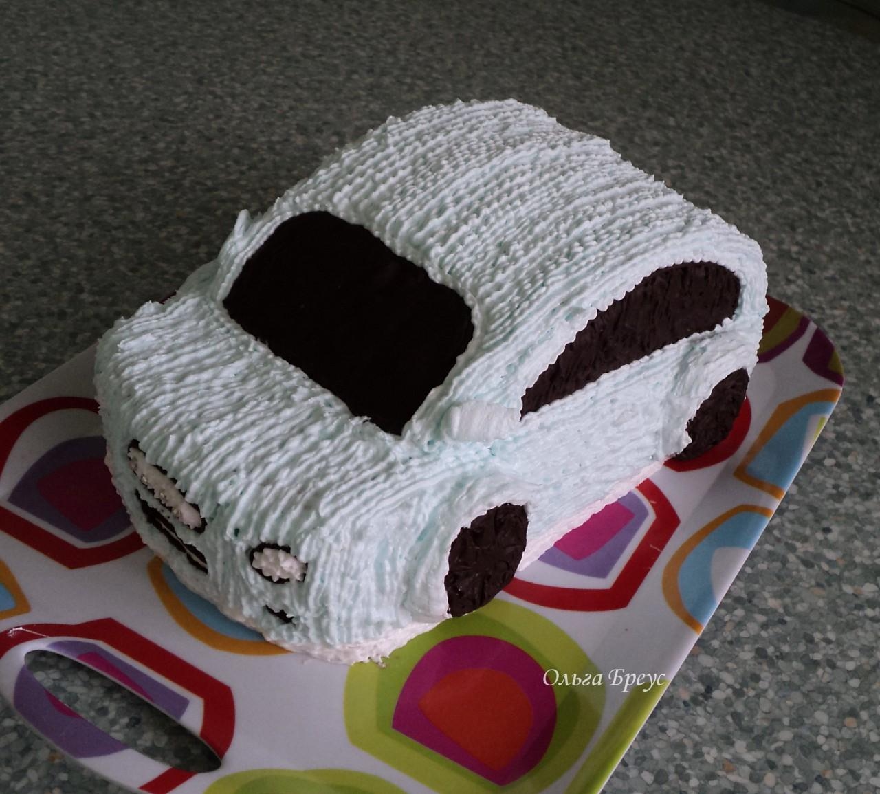 Торт машина. К детскому празднику или 23 февраля