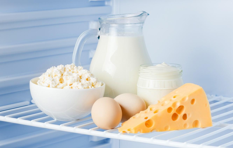 Картинка молоко сметана и яйца