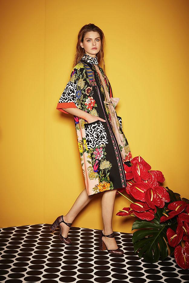 Модная вышивка на одежде