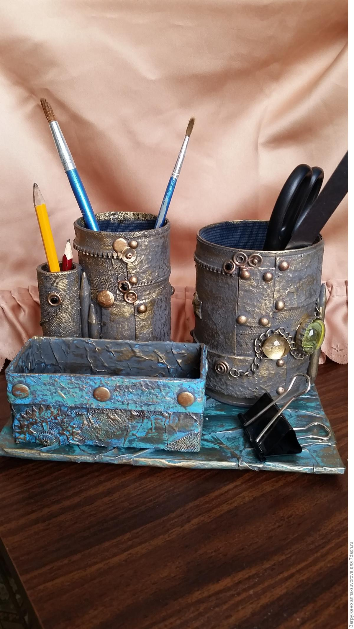 Мастер-класс по изготовлению карандашницы