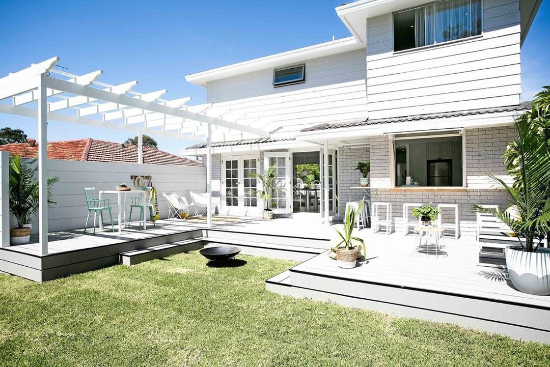 дизайн частного дома в белом цвете фото всегда хотелось побыть