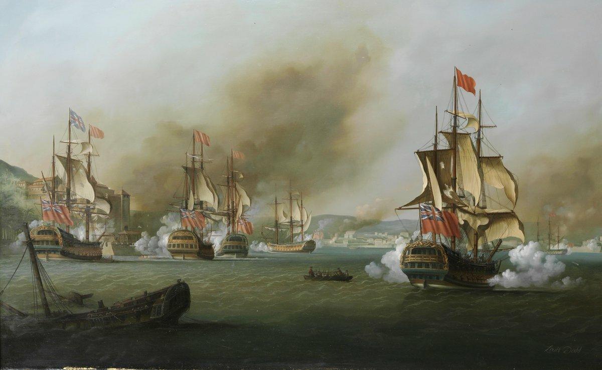 Британцы не могли поверить, что один корабль доставит столько проблем
